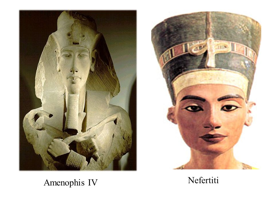 Nefertiti Amenophis IV