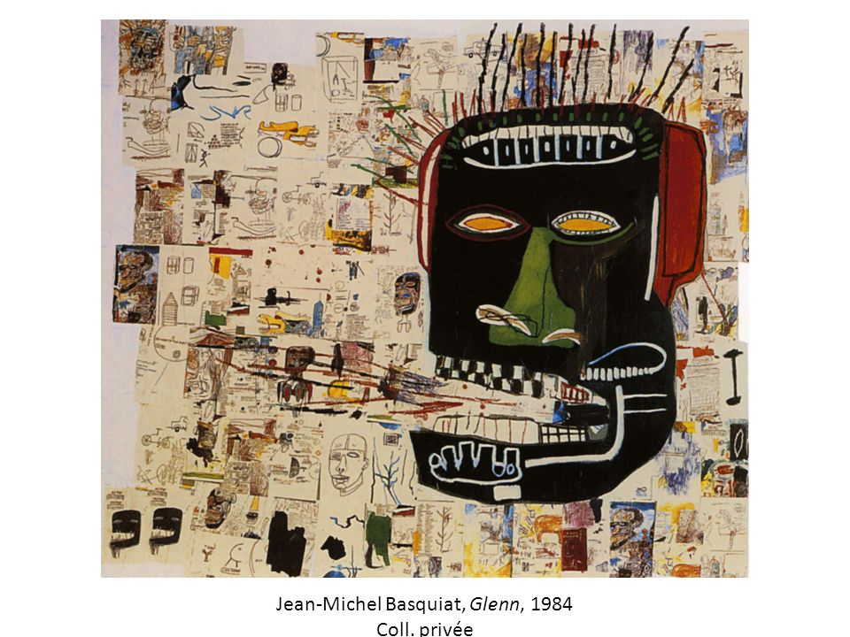 Jean-Michel Basquiat, Glenn, 1984