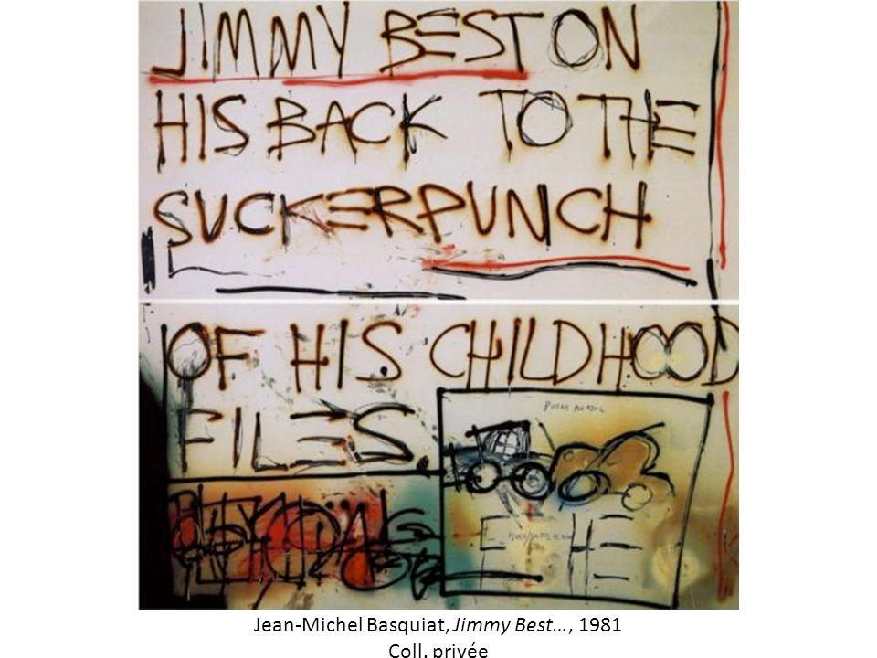 Jean-Michel Basquiat, Jimmy Best…, 1981