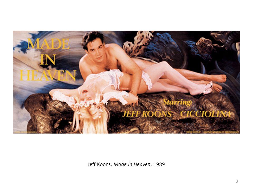 Jeff Koons, Made in Heaven, 1989