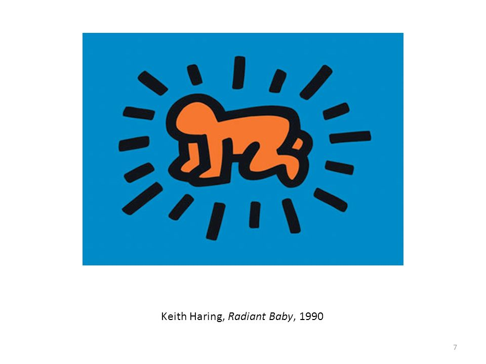 Keith Haring, Radiant Baby, 1990