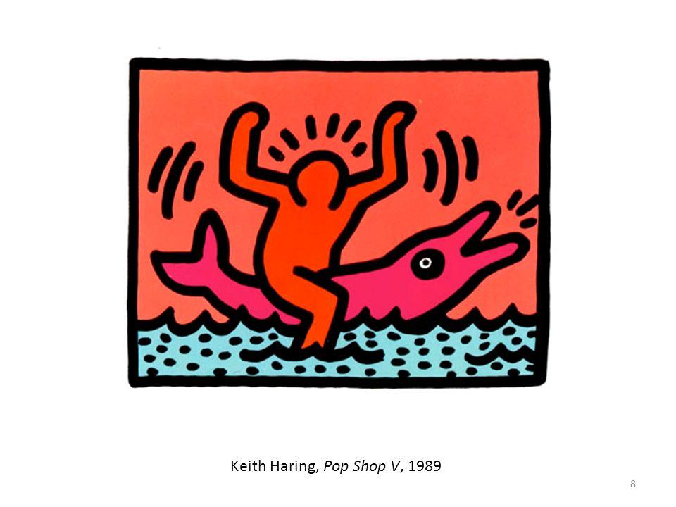 Keith Haring, Pop Shop V, 1989
