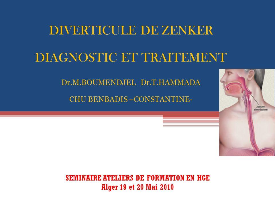 SEMINAIRE ATELIERS DE FORMATION EN HGE Alger 19 et 20 Mai 2010