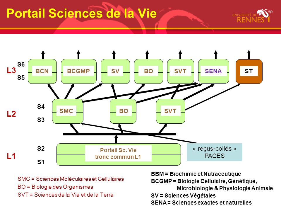 Portail Sciences de la Vie