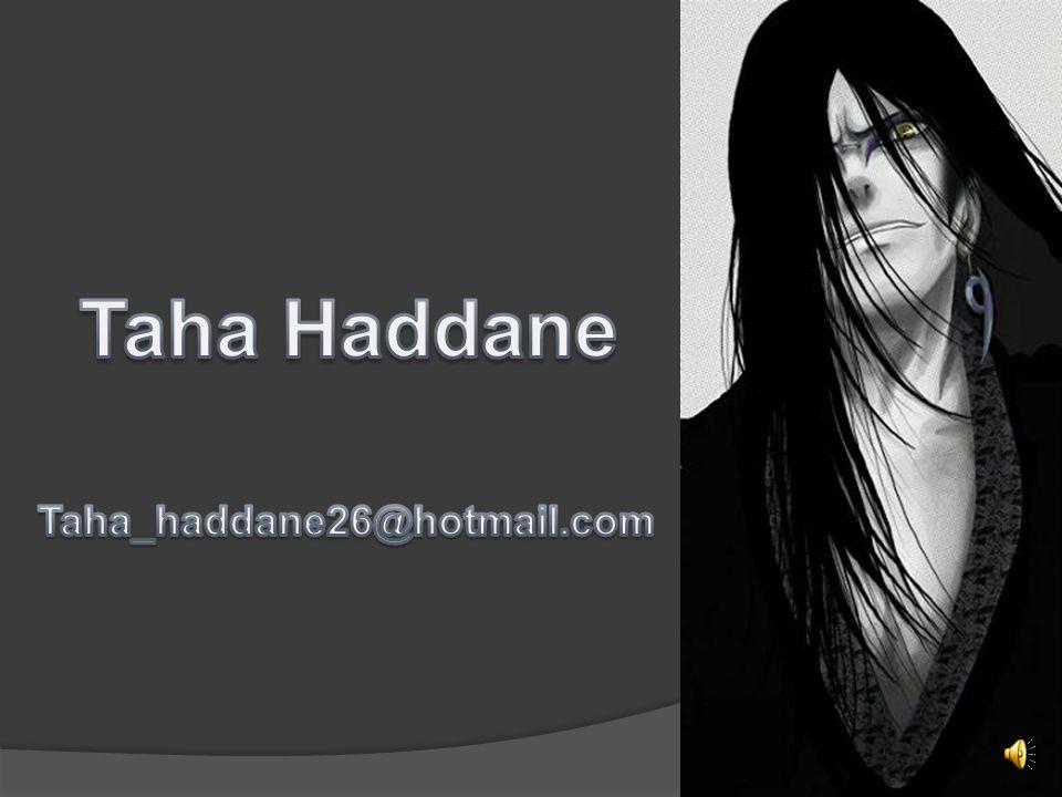 Taha Haddane Taha_haddane26@hotmail.com