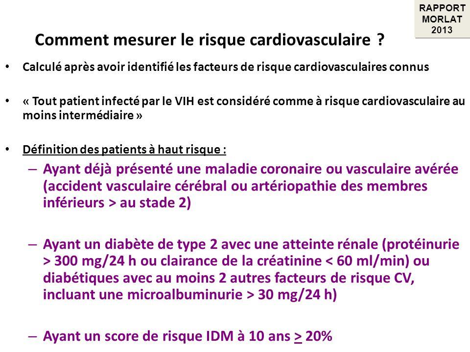 Comment mesurer le risque cardiovasculaire