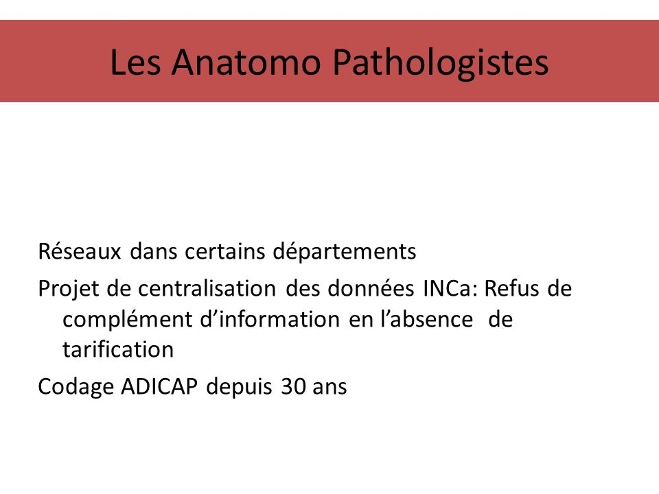 Les Anatomo Pathologistes