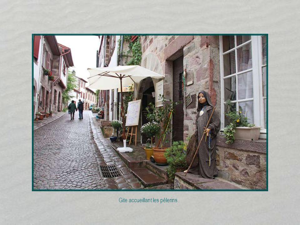 Gite accueillant les pèlerins.