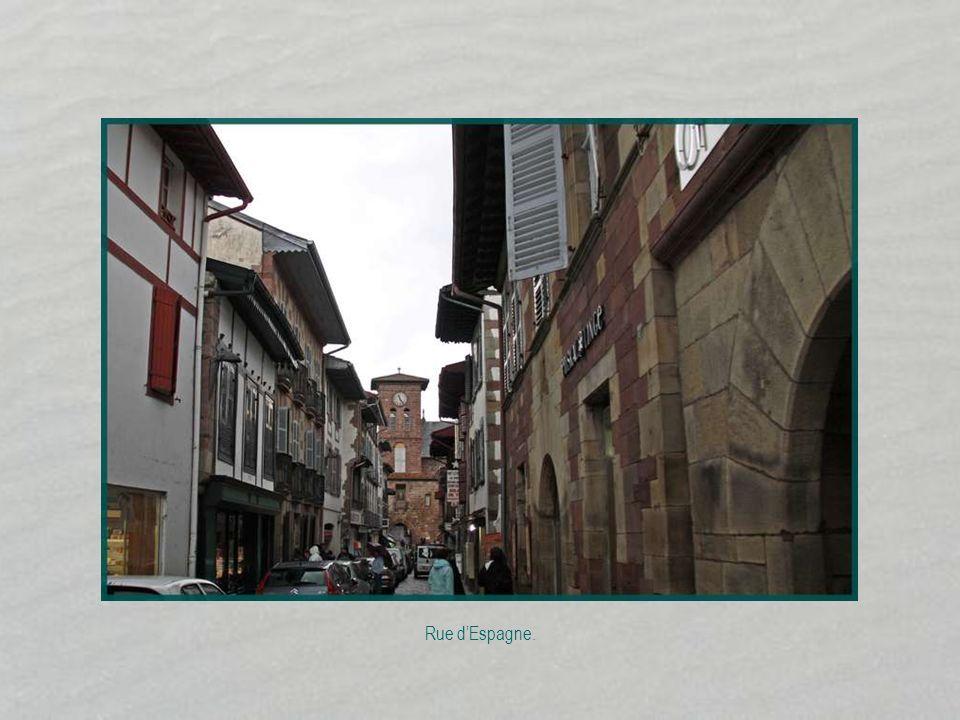 Rue d'Espagne.