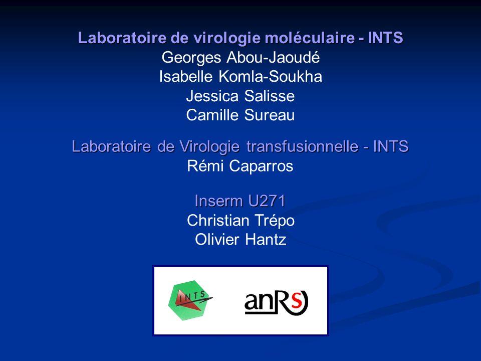 Laboratoire de virologie moléculaire - INTS Georges Abou-Jaoudé