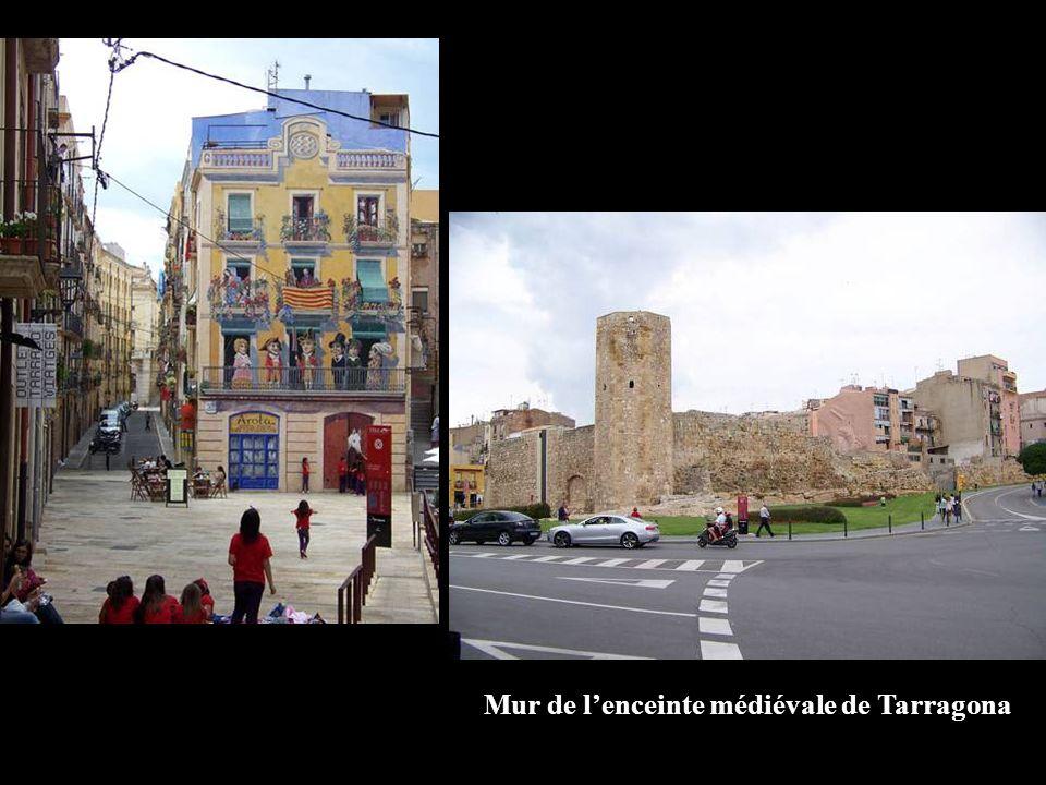 Mur de l'enceinte médiévale de Tarragona