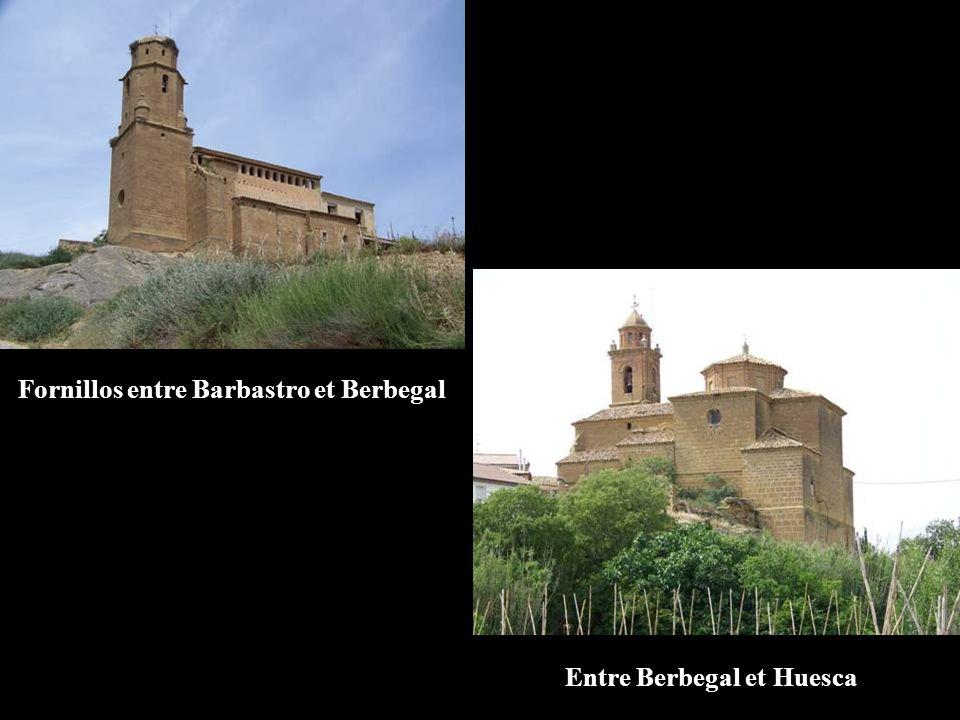 Fornillos entre Barbastro et Berbegal