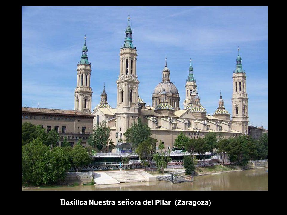 Basílica Nuestra señora del Pilar (Zaragoza)