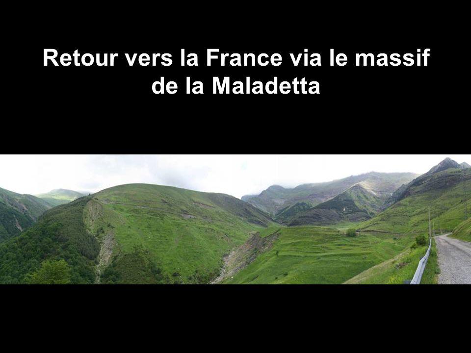 Retour vers la France via le massif de la Maladetta
