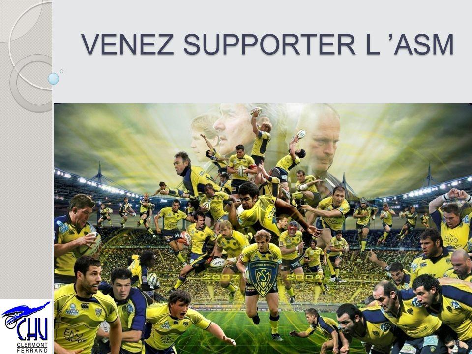VENEZ SUPPORTER L 'ASM