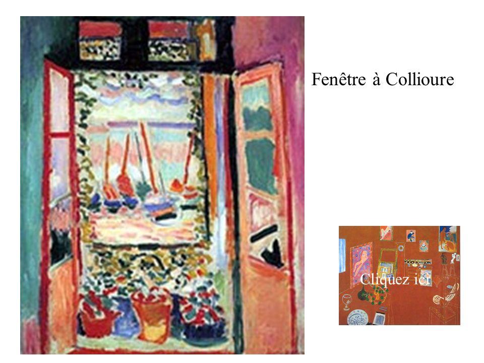 Fenêtre à Collioure Cliquez ici Cliquez ici
