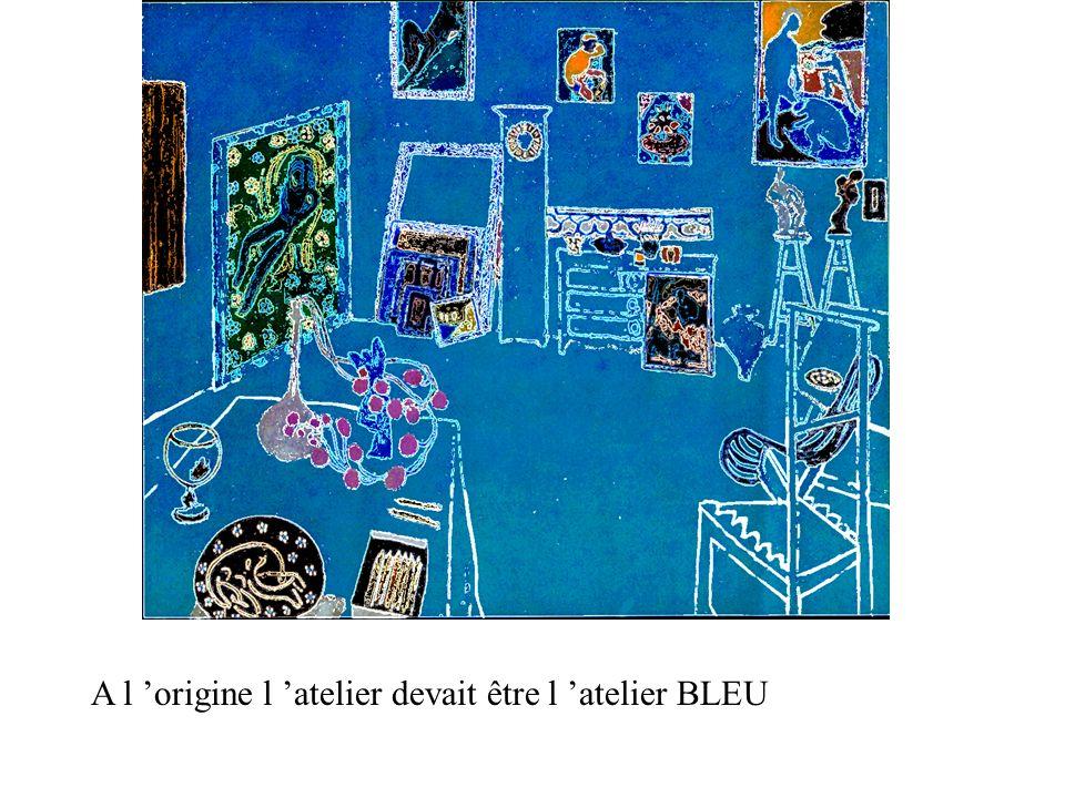 A l 'origine l 'atelier devait être l 'atelier BLEU