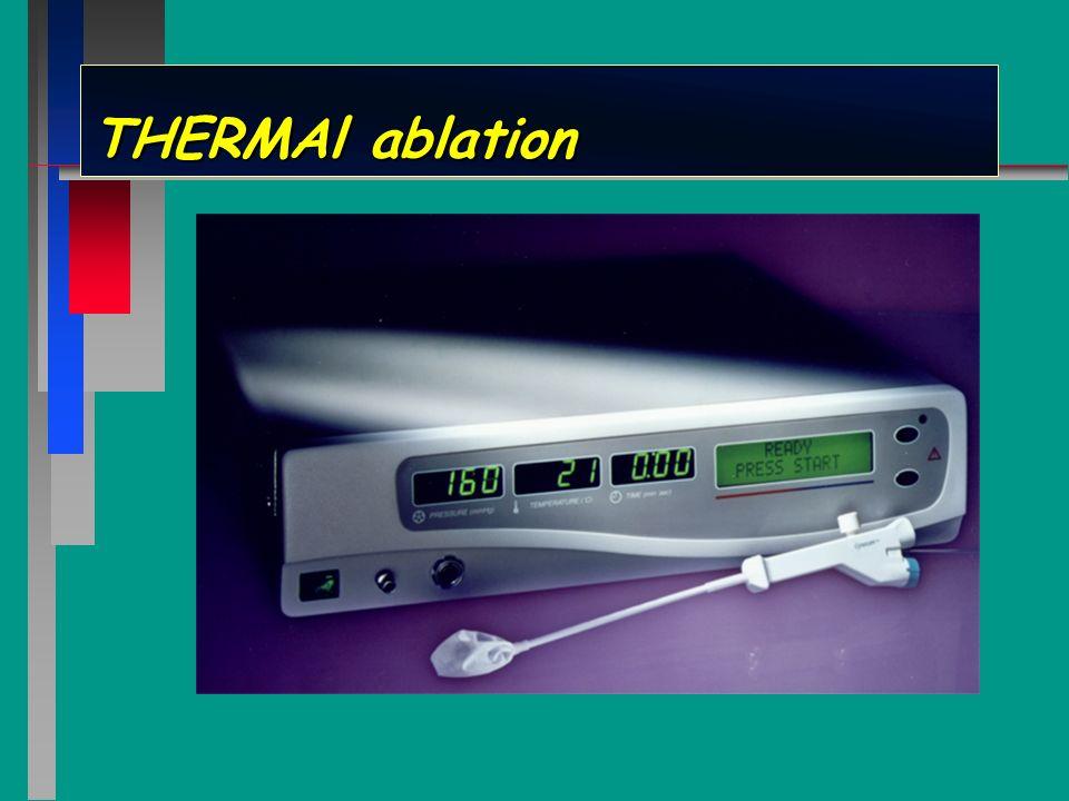 THERMAl ablation Le générateur Thermachoice contrôle en permanence les 3 paramètres clefs de la procedure assurant ainsi son parfait déroulement: