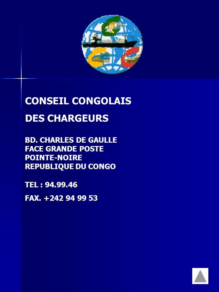 CONSEIL CONGOLAIS DES CHARGEURS BD. CHARLES DE GAULLE