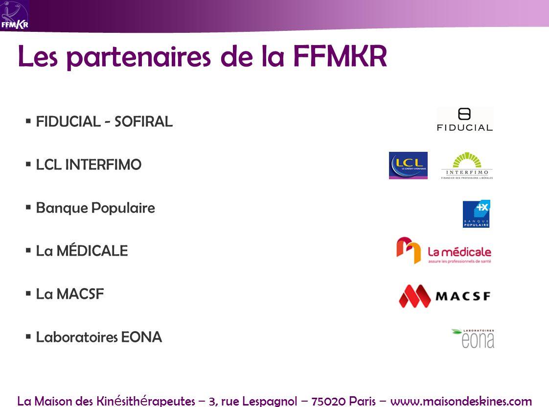 Les partenaires de la FFMKR