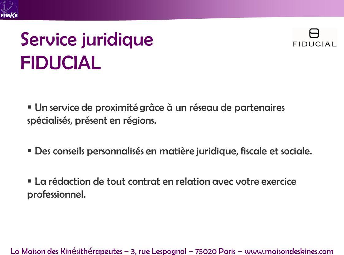 Service juridique FIDUCIAL
