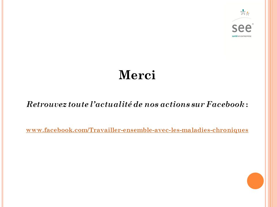 Retrouvez toute l'actualité de nos actions sur Facebook :