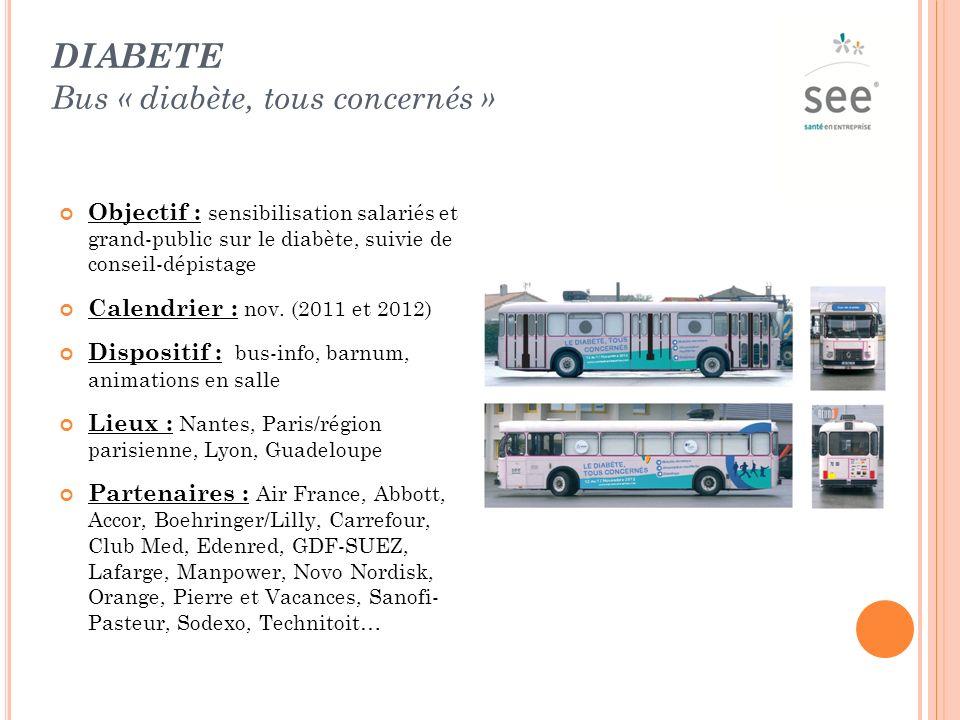 diabete Bus « diabète, tous concernés »