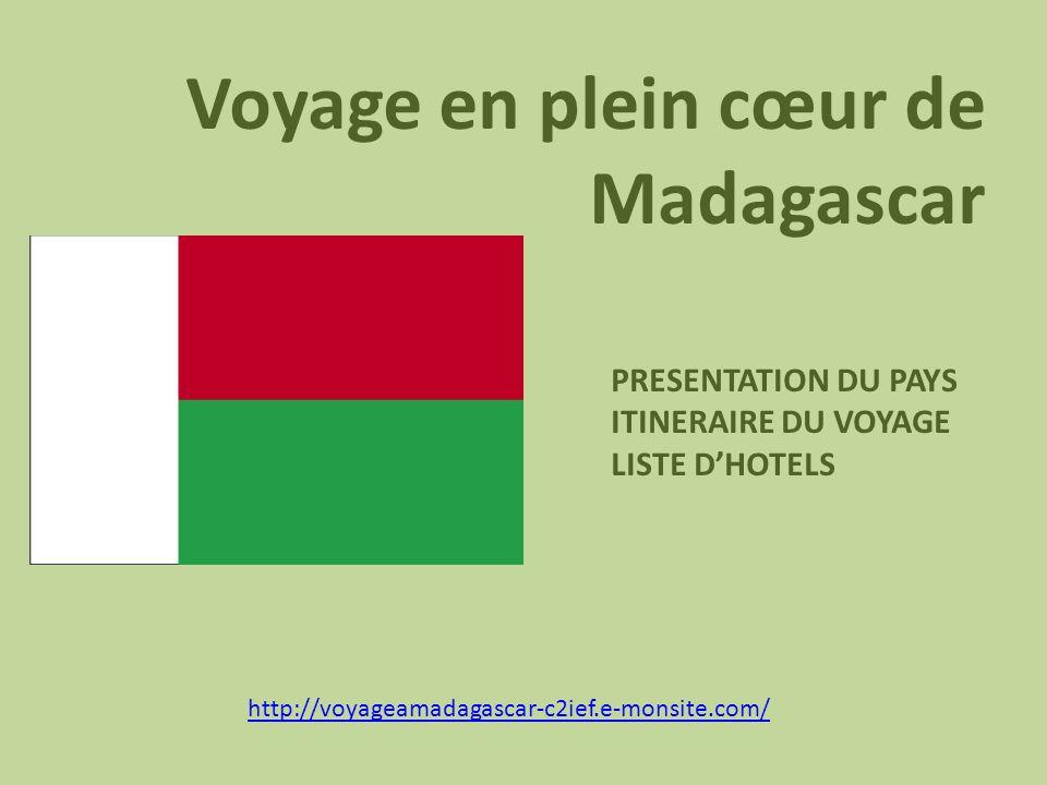 Voyage en plein cœur de Madagascar