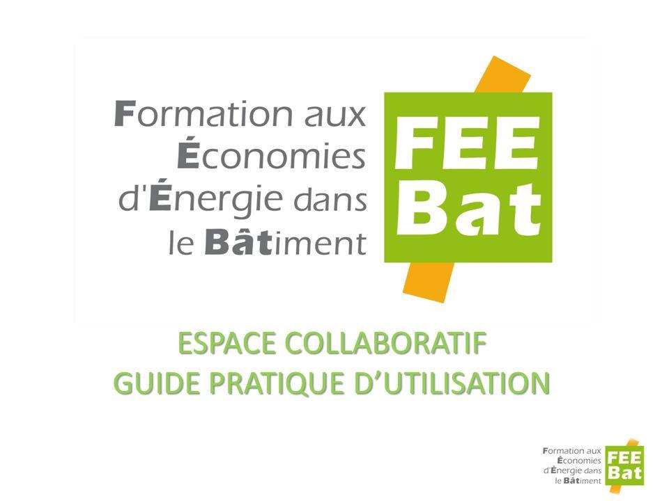 Espace collaboratif Guide pratique d'utilisation