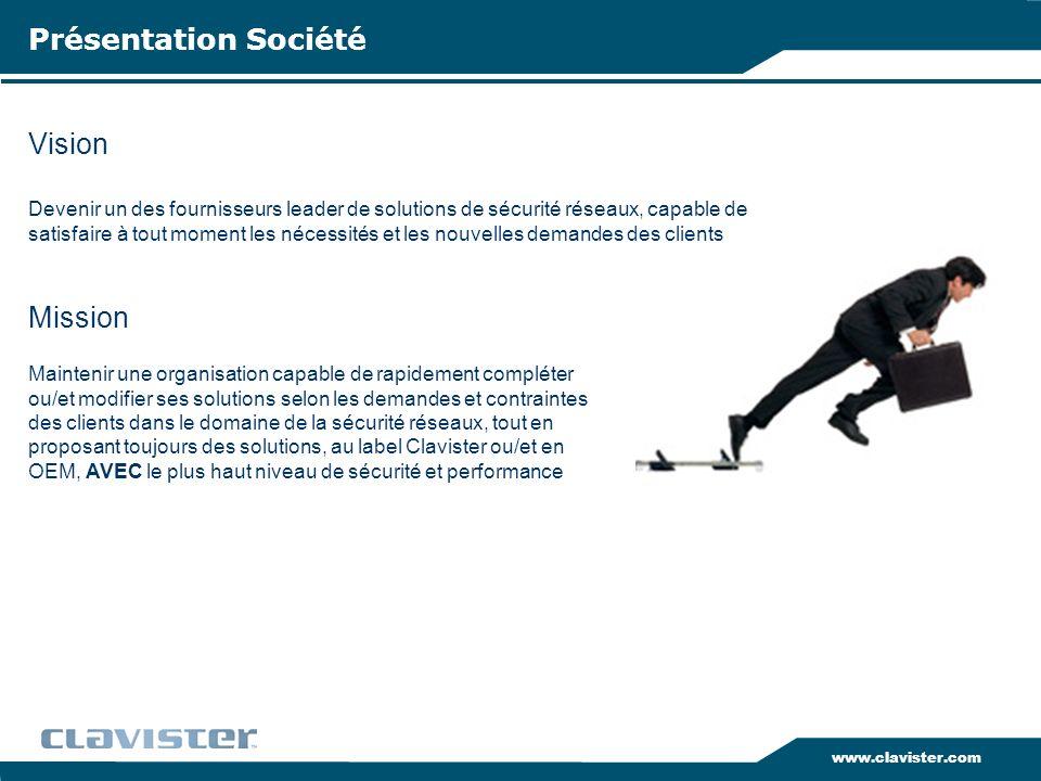 Présentation Société Vision Mission