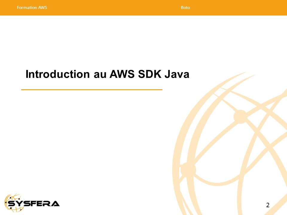 Introduction au AWS SDK Java
