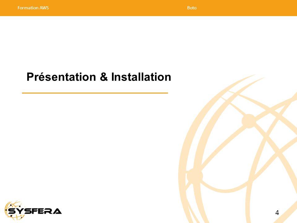 Présentation & Installation