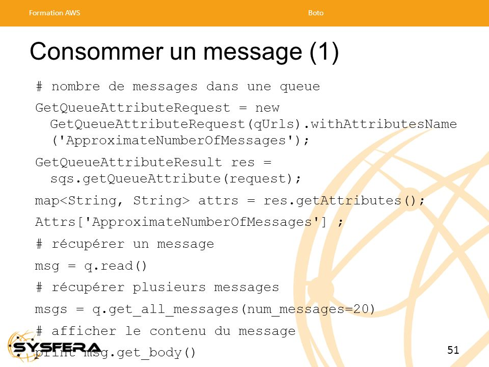 Consommer un message (1)
