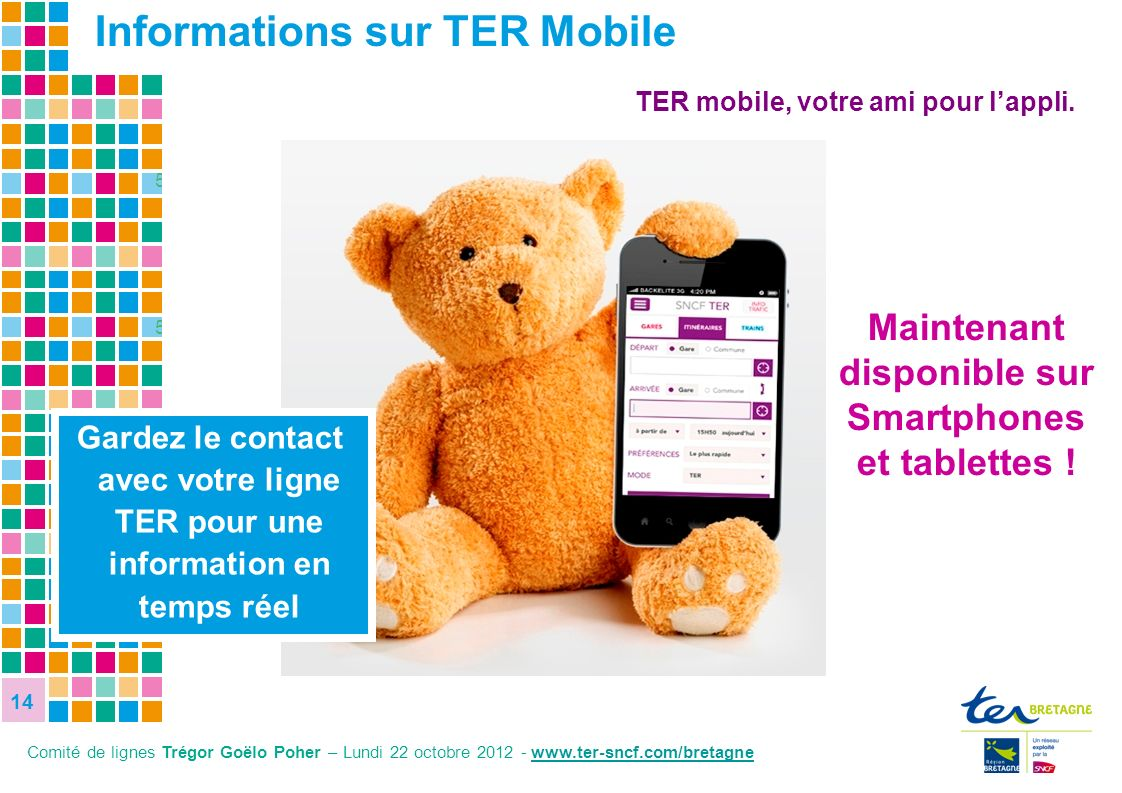 Informations sur TER Mobile