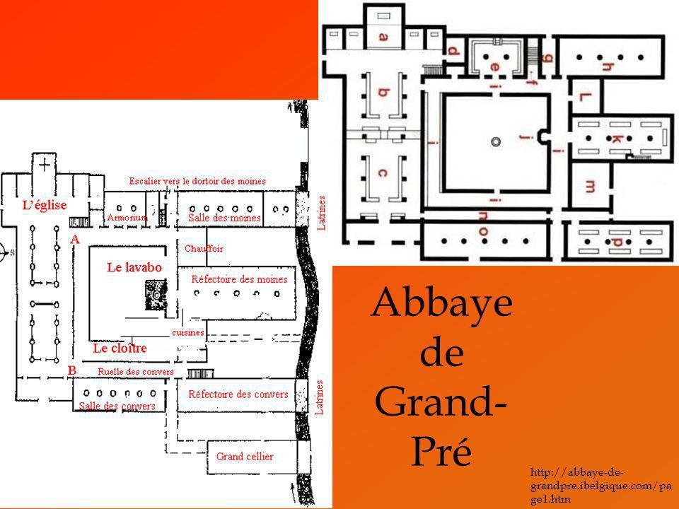 Abbaye de Grand-Pré http://abbaye-de-grandpre.ibelgique.com/page1.htm