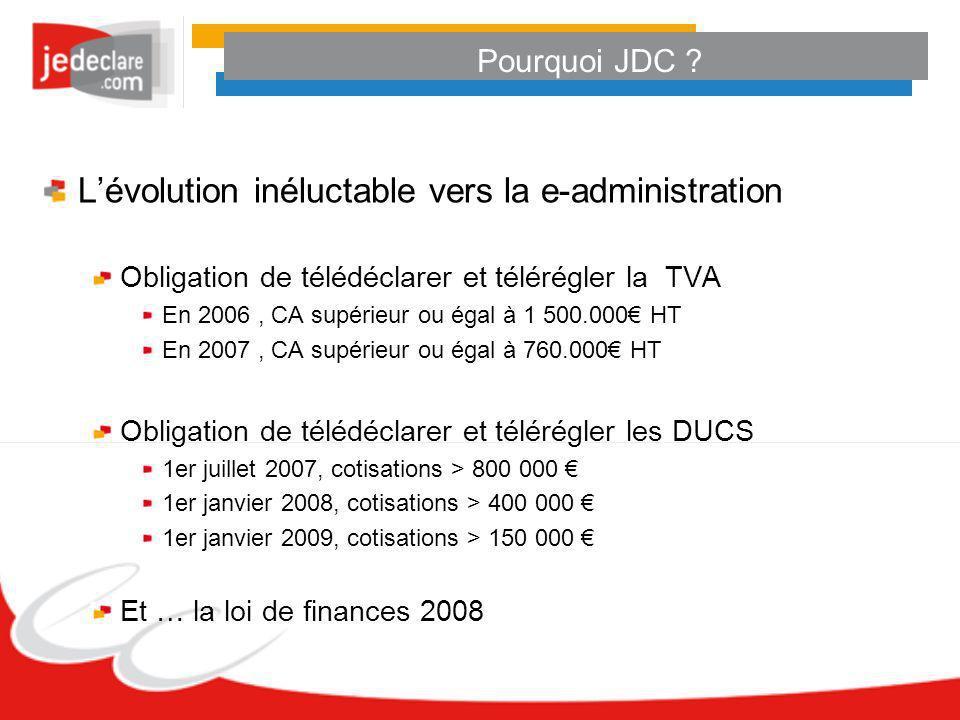 L'évolution inéluctable vers la e-administration