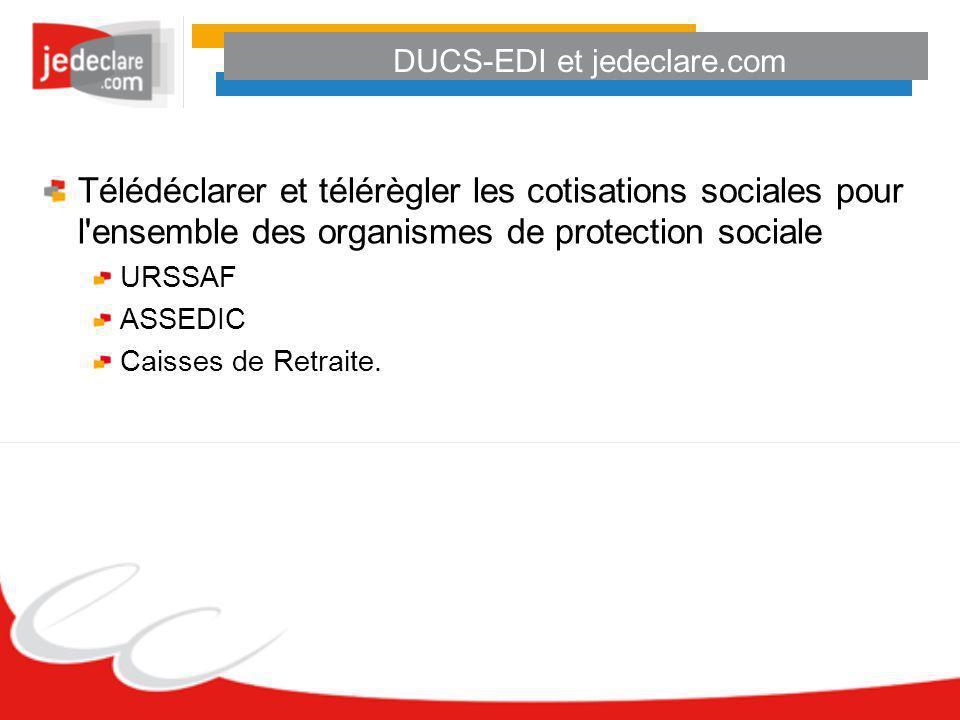 DUCS-EDI et jedeclare.com