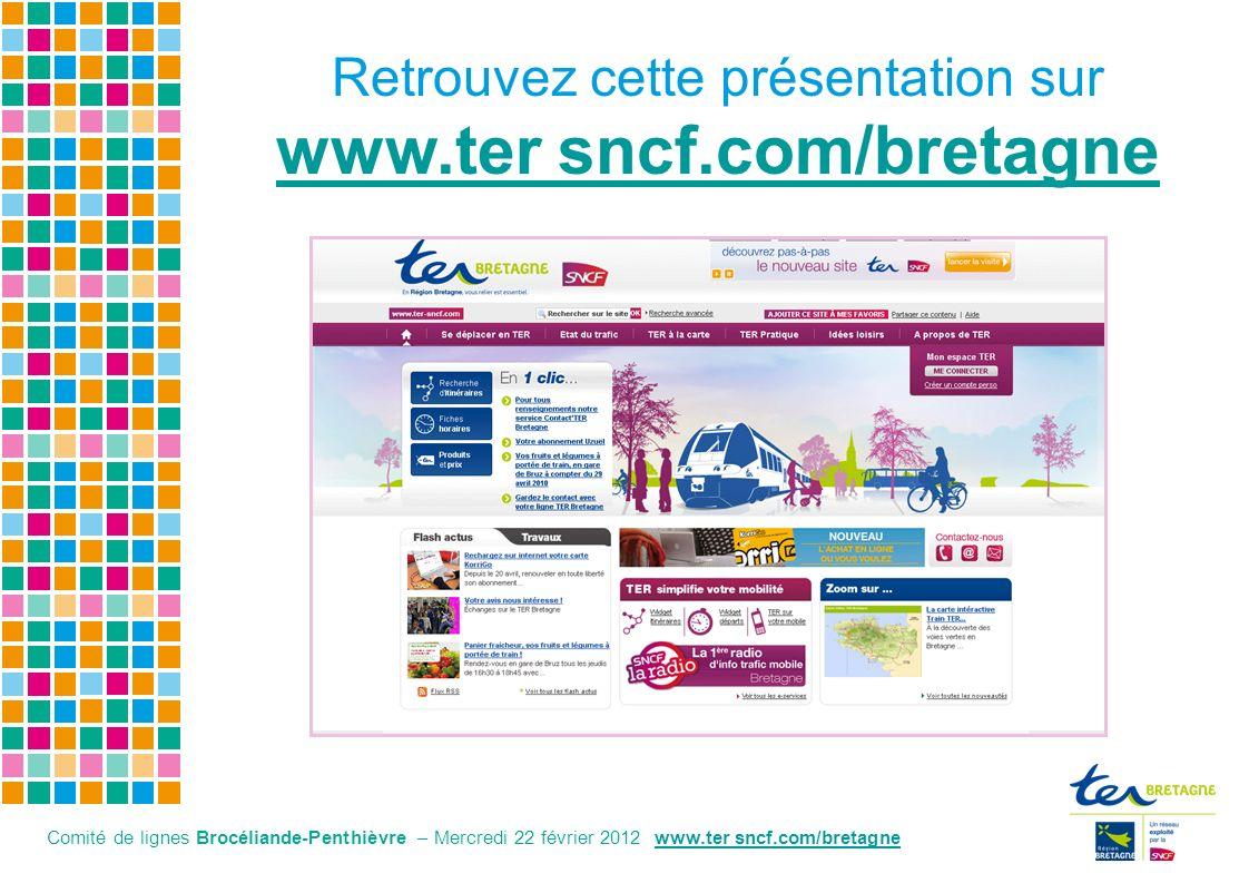 Retrouvez cette présentation sur www.ter sncf.com/bretagne