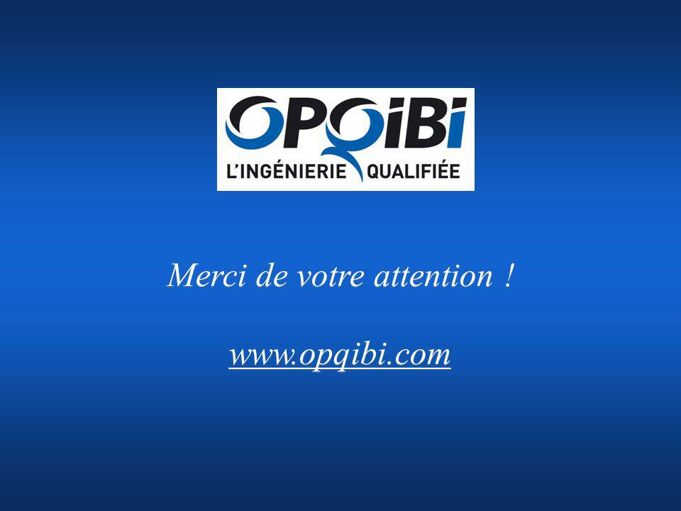 Merci de votre attention ! www.opqibi.com