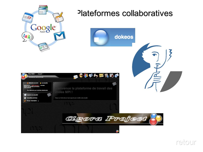 Plateformes collaboratives