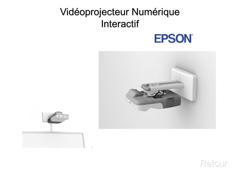Vidéoprojecteur Numérique Interactif