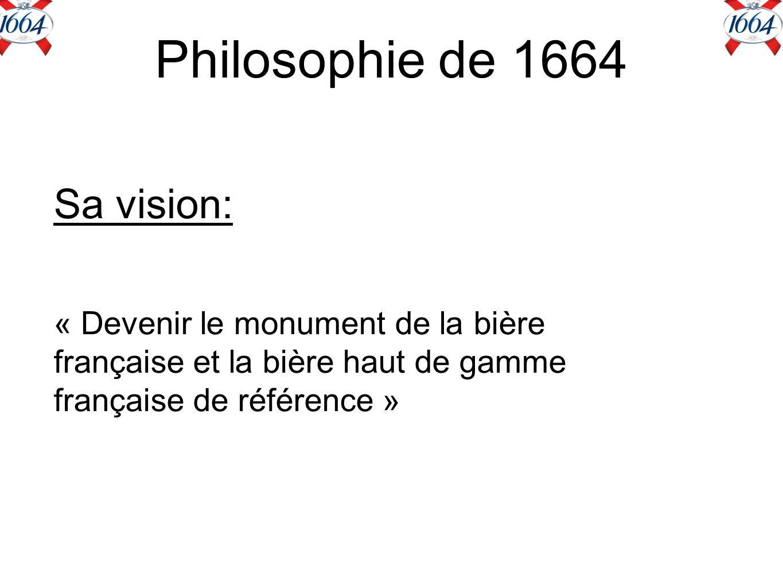 Philosophie de 1664 Sa vision: