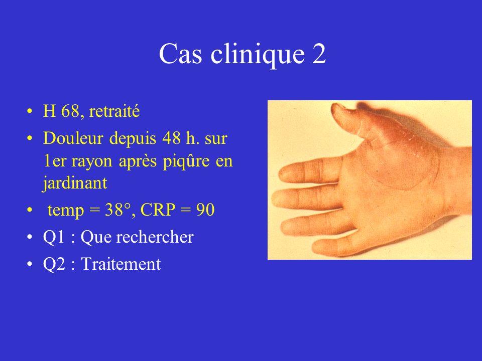 Cas clinique 2 H 68, retraité