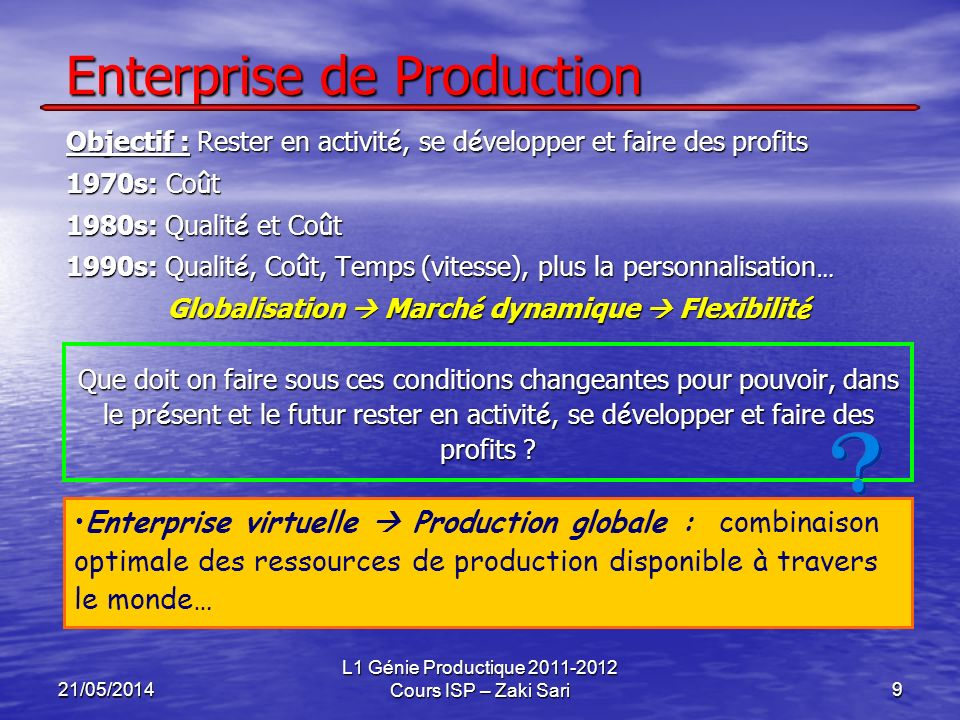 Enterprise de Production