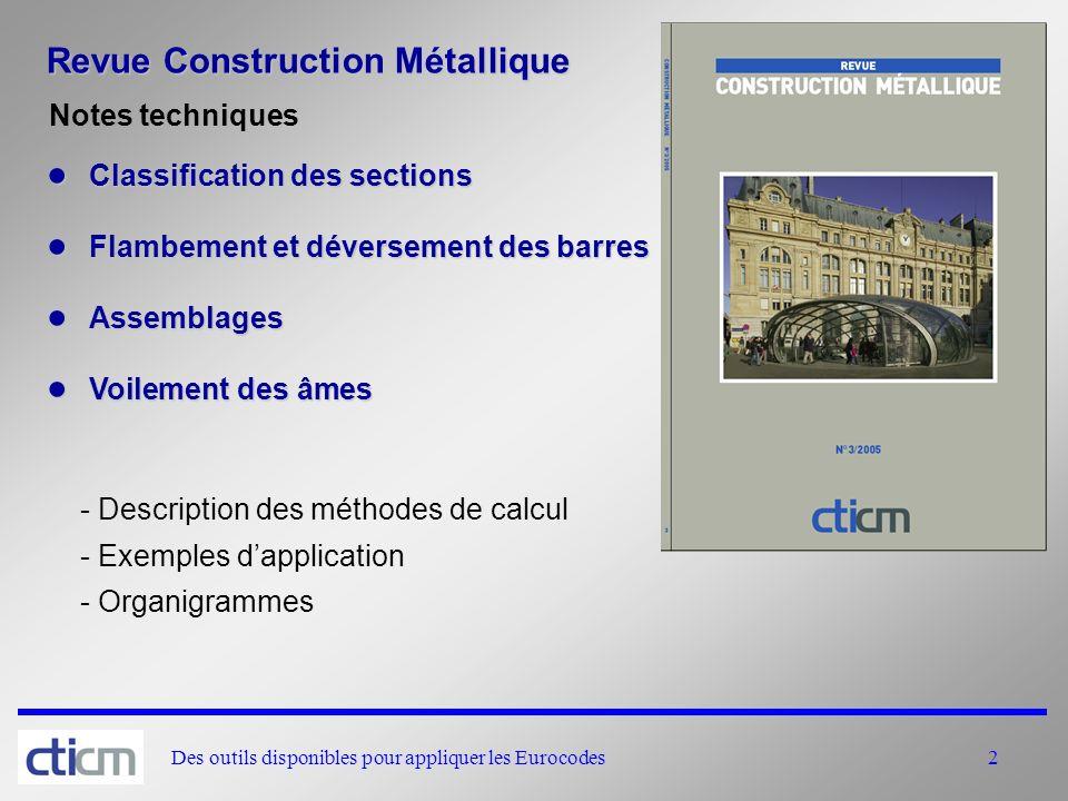 Revue Construction Métallique