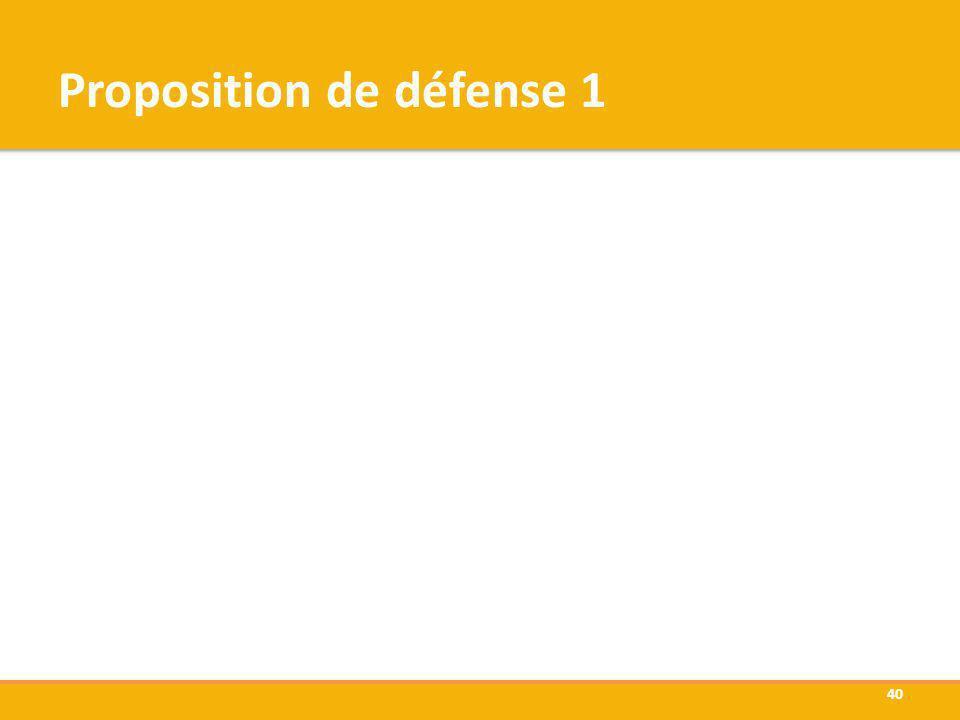 Proposition de défense 1