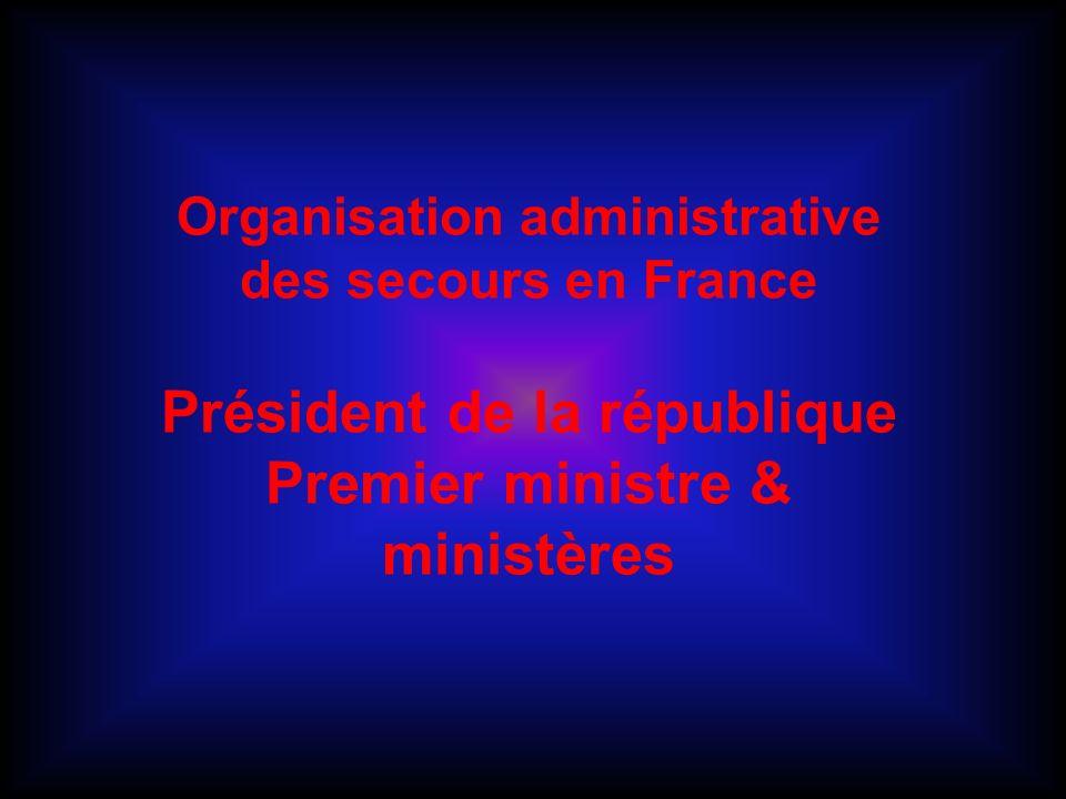 Président de la république Premier ministre & ministères