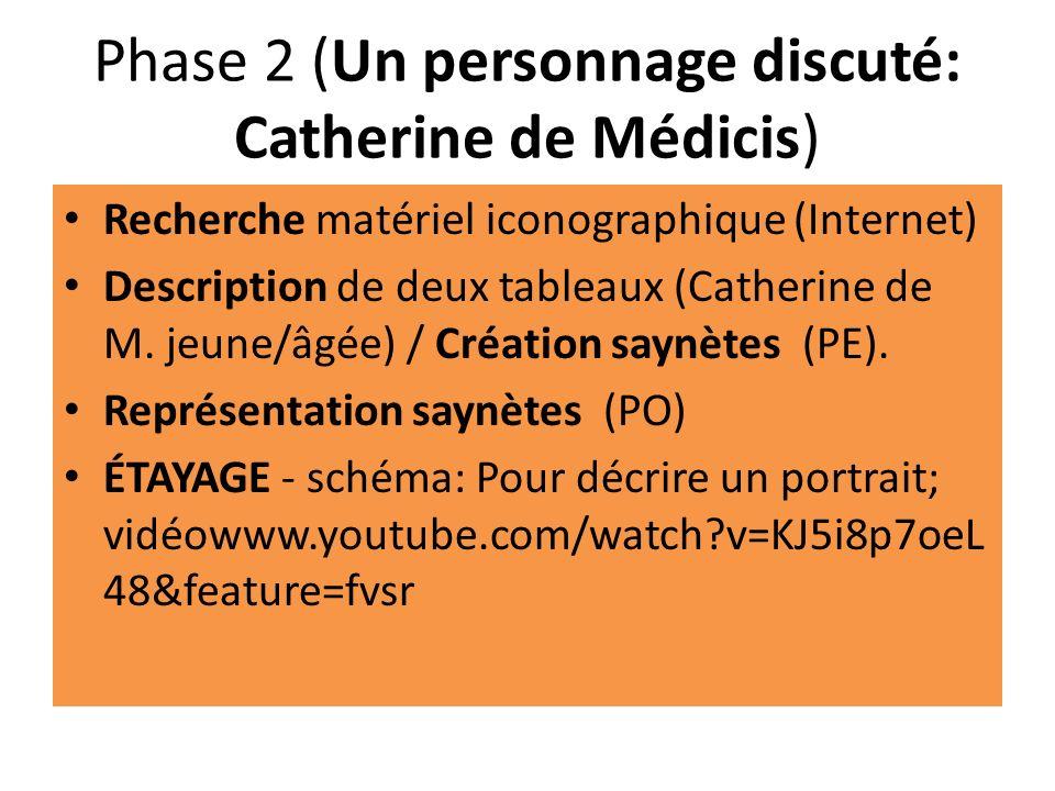 Phase 2 (Un personnage discuté: Catherine de Médicis)