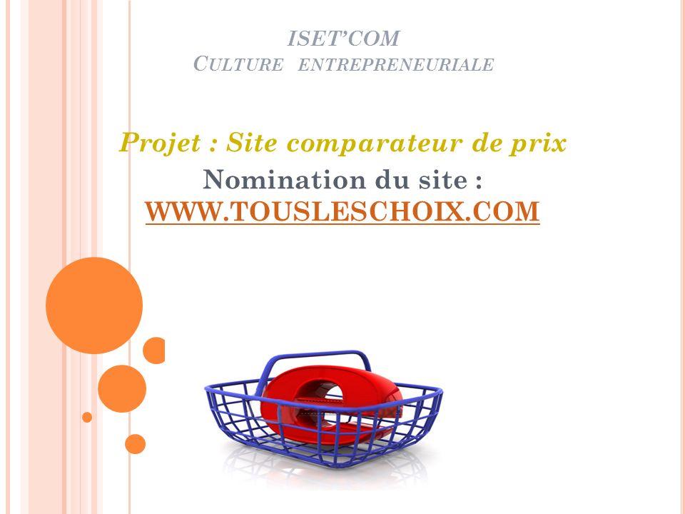 ISET'COM Culture entrepreneuriale