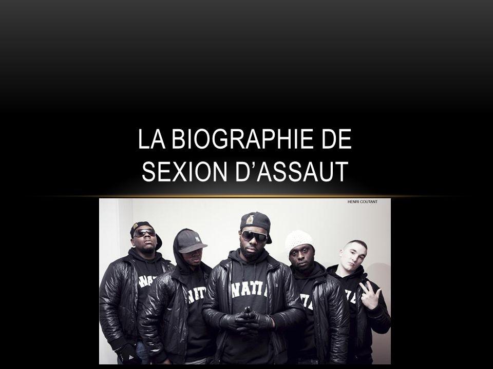 La biographie de Sexion d'Assaut